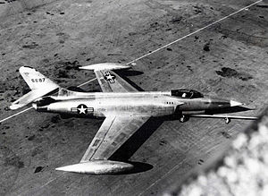 Lockheed XF-90 - The first XF-90 prototype.