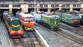 Locomotives in Oryol depot.jpg