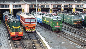 Transport in Russia - Russian locomotives