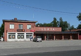 Loksa - Loksa bus station