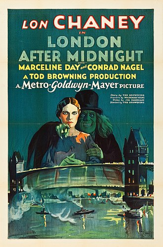 London After Midnight (film) - Image: London After Midnight Poster 1927 MGM