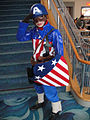 Long Beach Comic Expo 2011 - 1940s Captain America (5648640188).jpg