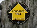 Longster Trail Sign - geograph.org.uk - 715846.jpg
