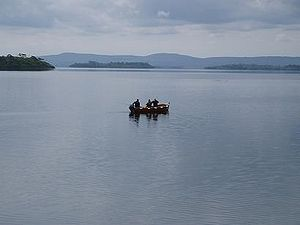 Lough Corrib - Fishermen near Cong