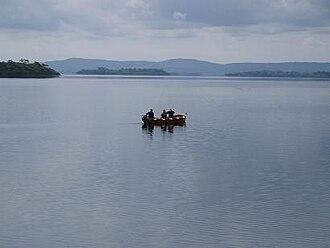 Lough Corrib - Fishermen near Cong