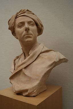 Louis-François Roubiliac, Bust of a Man, Probably Francis Hayman (c. 1750, Yale Center for British Art).jpg