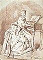 Louis-Roland Trinquesse Jeune femme assise au clavecin randlos.jpg
