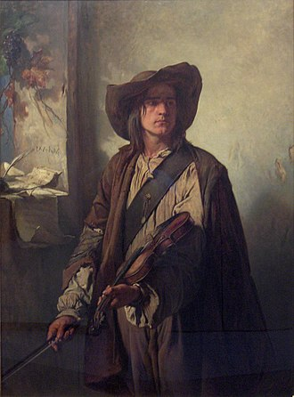 Louis Gallait - Art and Liberty (1849)