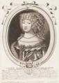 Louise Marie Françoise de Savoye, Reyne de Portugal et des Algarbes (1687) - Nicolas de Larmessin.png