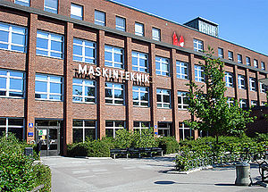 Faculty of Engineering (LTH), Lund University - LTH maskin (mechanical eng.) front