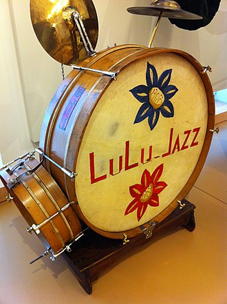 Double-drumming - Lulu Jazz Drum