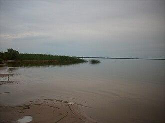 Lake Lubāns - Image: Lubāns See (Lettland)