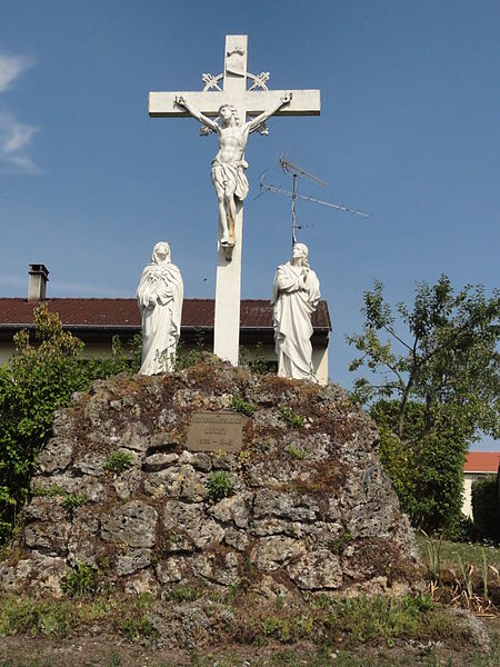 Lucey (Meurthe-et-M.) calvaire mémorial de guerre