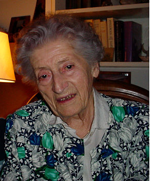 Lucie Aubrac - Lucie Aubrac at age 90