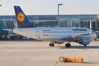 D-AIBF - A319 - Lufthansa