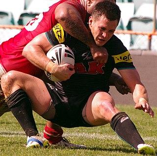 Luke Capewell Australian rugby league player