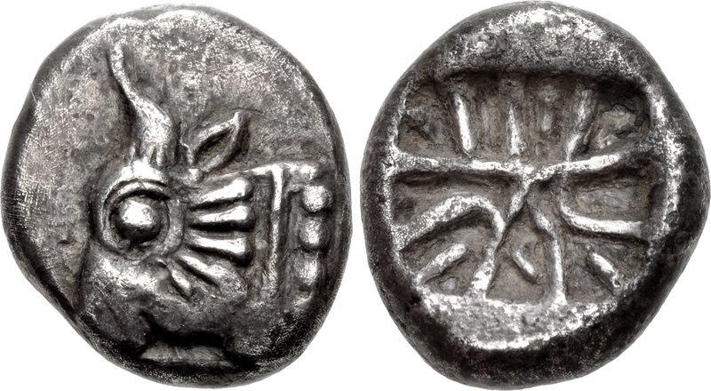 Lycia coin Circa 520-470 BCE