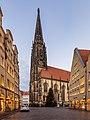 Münster, Prinzipalmarkt mit St.-Lamberti-Kirche -- 2020 -- 4128-30.jpg