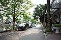 Một góc phố Vũ Văn Dũng, nhìn ra đường Thanh Niên, thành phố Hải Dương, tỉnh Hải Dương.jpg