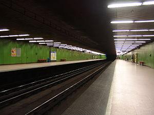 Népliget (Budapest Metro) - Image: M3 Népliget 1