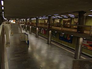 Nagyvárad tér (Budapest Metro) - Image: M3 Nagyvárad tér 1