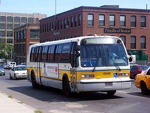 MBTA Bus - Image: MBTA TMC RTS 0049
