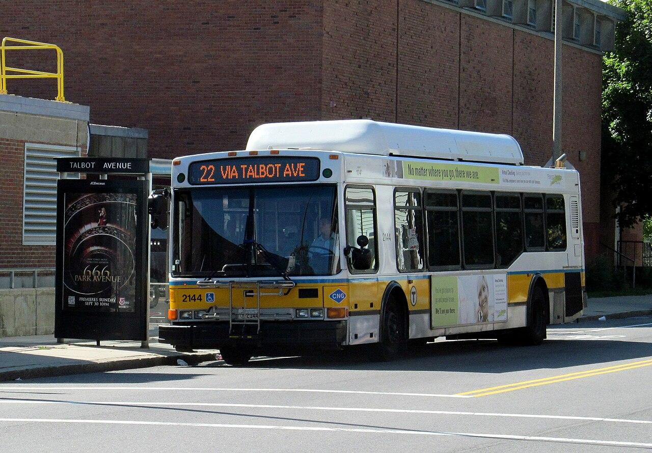 File Mbta Route 22 Bus On Talbot Avenue September 2012