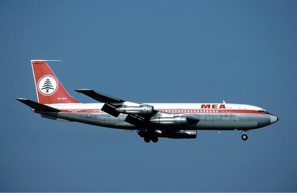 MEA Boeing 720 Marmet-2
