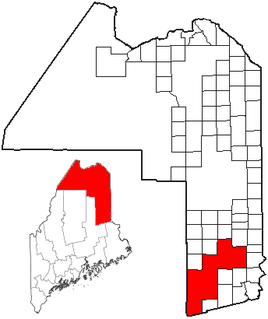 South Aroostook, Maine Unorganized territory in Maine, United States