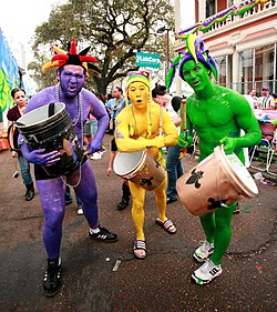 Mardi Gras(Also known as Shrove Tuesday or Fat Tuesday)