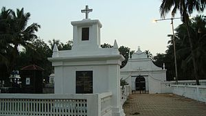 Diogo Rodrigues - Roiz Rodrigues Family Monument at Colva, Goa