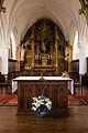 Maître-autel et retable de l'église Saint-Martin, Réville, France.jpg