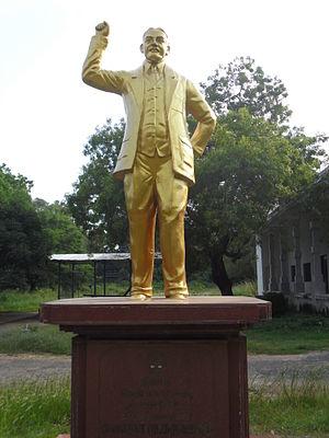 Chempakaraman Pillai - Chempakaraman statue in Chennai
