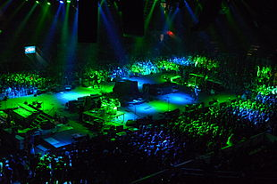 I Machine Head dal vivo nel 2009.
