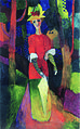 Macke-Woman in park.jpg