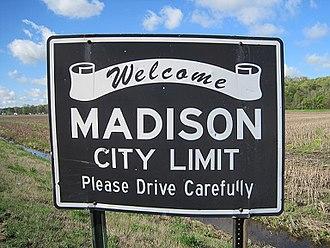 Madison, Arkansas - Image: Madison AR 002