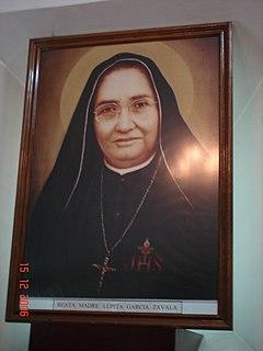 María Guadalupe García Zavala Mexican saint