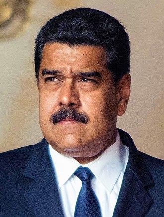 2013 Venezuelan presidential election - Image: Maduro cropped