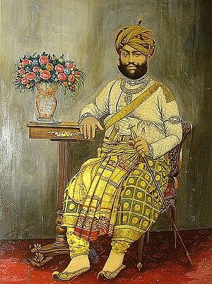 Pragmalji II - Maharao Pragmulji II of Kutch