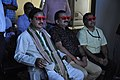 Mahesh Sharma With Prabhas Kumar Singh And Anil Shrikrishna Manekar Watching 3D Video - NCSM - Kolkata 2017-07-11 3543.JPG