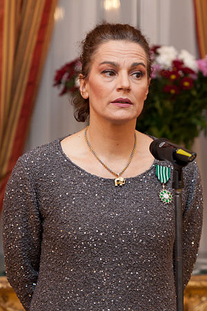 Maia Morgenstern - Maia Morgenstern in November 2012