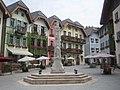 Main Square, Copy of Halstatt, near Huizou, Guangdong Province.jpg