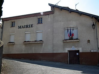 Arras-sur-Rhône - Town hall