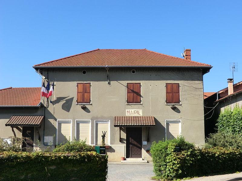 Mairie de Saint-Marcel (Ain).