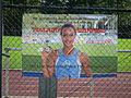 Malaika Mihambo Gratulation TSV Oftersheim 2011.JPG
