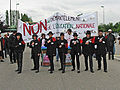 Manifestation against politic of education in France in 2003.jpg