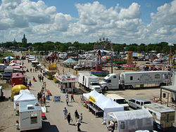 The Manitoba Stampede and Exhibition in Morris