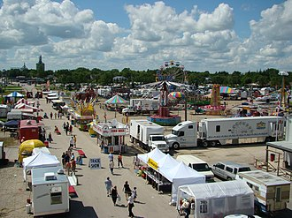 Morris, Manitoba - The Manitoba Stampede and Exhibition in Morris