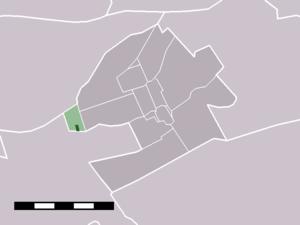 Hekendorp - Image: Map NL Oudewater Hekendorp