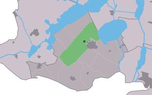 Harich, Friesland - Image: Map NL Gaasterlân Sleat Harich